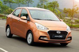 3 xe sedan rẻ nhất tại Việt Nam: Hyundai Grand i10 đầu bảng