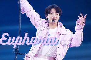 'Euphoria' của Jungkook (BTS) là ca khúc solo đầu tiên của nghệ sĩ Hàn tiêu thụ con số khủng tại Mỹ