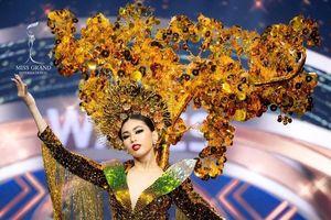 Chung kết Miss Grand: Ngọc Thảo xuất sắc lọt Top 3 Trang phục dân tộc đẹp nhất do BGK lựa chọn