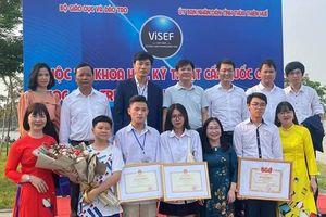 Bắc Giang: Hai dự án tham gia cuộc thi khoa học kỹ thuật cấp quốc gia đều đoạt giải