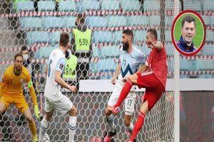 Dzuyba hai lần đốt lưới TM của Atletico, Nga lên đầu
