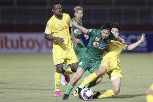 Sài Gòn FC thua thảm trên sân Thống Nhất