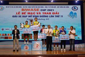 Giải xe đạp nữ Bình Dương năm 2021: Tập đoàn Lộc Trời và tuyển Biwase đứng đầu giải