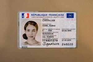 Pháp công bố mẫu thẻ căn cước công dân sinh học mới