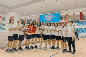 Giải bóng chuyền Cúp Hoa Lư - Bình Điền 2021: Nữ Quảng Ninh giành giải ba
