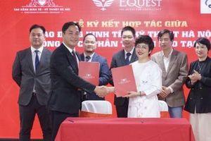 Trường CĐ Kinh tế - Kỹ thuật Hà Nội 'bắt tay' doanh nghiệp, đảm bảo 'đầu ra' cho sinh viên