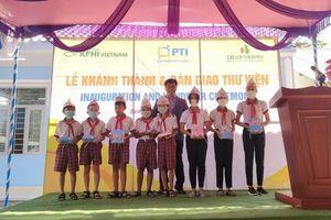 PTI trao tặng thư viện tại Bình Phước