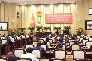Hà Nội miễn nhiệm, bầu bổ sung hàng loạt Ủy viên UBND TP