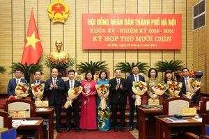 HĐND Hà Nội bầu bổ sung 7 giám đốc sở