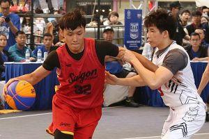 Đội trẻ Saigon Heat về nhì tại giải 3x3 ở Hà Nội