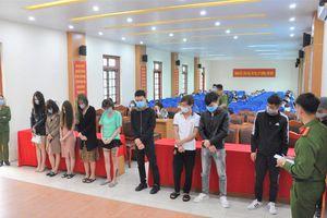 Hải Dương: Hơn 40 thanh niên 'phê' ma túy trong quán karaoke ở Bình Giang