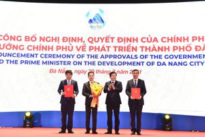 Công bố Nghị định, Quyết định của Chính phủ về phát triển TP. Đà Nẵng