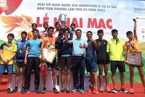 Điền kinh Biên phòng ghi dấu ấn tại Giải Tiền Phong Marathon 2021