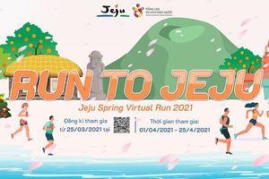 Cục Xúc tiến Du lịch Jeju tổ chức giải chạy ảo RUN to Jeju