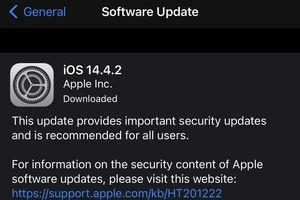 Apple vội vã tung ra bản cập nhật mới cho iPhone, iPad