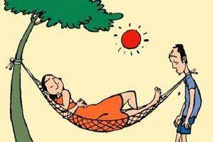 Truyện cười: Quan ông sợ vợ