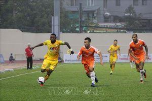V.League 2021: Đội chủ nhà Đông Á Thanh Hóa thua đậm SHB Đà Nẵng