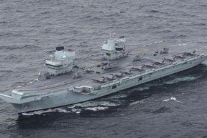 Tấn công điện tử Nga khiến tàu sân bay Anh bất lực?