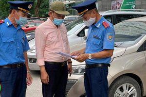 Hà Nội phạt 600 triệu đồng các điểm trông giữ xe vi phạm