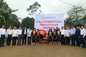 Hội Nông dân tỉnh hỗ trợ xã Đồn Đạc (Ba Chẽ) xây dựng NTM