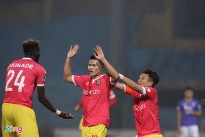 Geovane ghi bàn phút 90 giúp CLB Hà Nội thoát thua đội cuối bảng