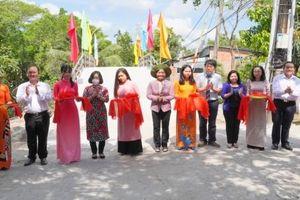 Cần Thơ: Khánh thành cầu dân sinh nối tình hữu nghị Việt Nam - Hàn Quốc tại huyện Phong Điền
