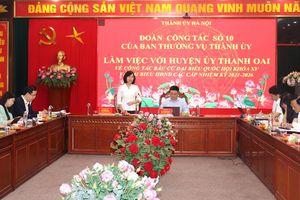 Huyện Thanh Oai cần bảo đảm 100% cử tri được tham gia bầu cử