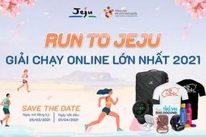 'Chạy đến Jeju' - sân chơi trực tuyết kết nối người yêu du lịch, thể thao