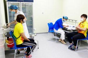 Tiêm phòng Covid-19 cho các Đội tuyển thể thao Việt Nam