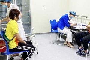 Những vận động viên Việt Nam đầu tiên được tiêm vắc-xin Covid-19