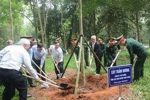 Tổng cục Công nghiệp Quốc phòng phát động 'Tết trồng cây đời đời nhớ ơn Bác Hồ'