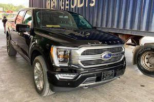 'Khủng long' Ford F-150 2021 về Việt Nam, không dưới 4 tỷ đồng