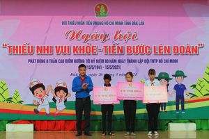 Đoàn thanh niên tiếp sức đường dài, không để học sinh nghèo bỏ học