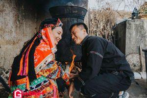 Nữ nhân viên văn phòng lên Hà Giang chụp ảnh cưới trang phục Lô Lô đẹp ngất ngây