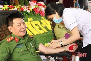 Ngày hội hiến máu nhân đạo ở Vũ Quang thu về 160 đơn vị máu