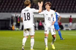 Nhật Bản thắng 'hủy diệt' 14-0 tại vòng loại World Cup 2022