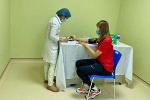 Các vận động viên đầu tiên của thể thao thành tích cao Việt Nam được tiêm vaccine COVID-19
