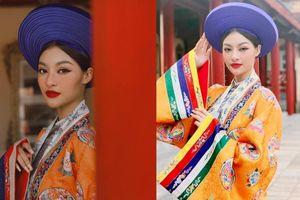 Lona Kiều Loan diện 'Phượng bào' đẹp rạng rỡ trong thước phim quảng bá du lịch miền Trung