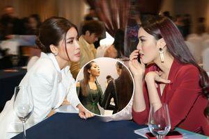 Minh Tú - Lan Khuê cực thân thiết ngày gặp lại: Fan trông chờ màn tái hợp của cặp đôi 'chị đại'