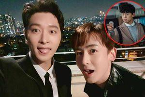 Góc anh em mến thương: Nichkhun và Chansung rủ nhau làm phim châm chọc Taecyeon trong Vincenzo