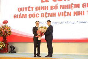 Phó giáo sư Trần Minh Điển làm Giám đốc Bệnh viện Nhi Trung ương
