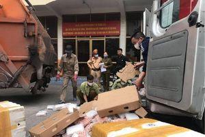 Quảng Ninh: Phát hiện hơn 1 tấn chân gà tẩm ướp không rõ nguồn gốc