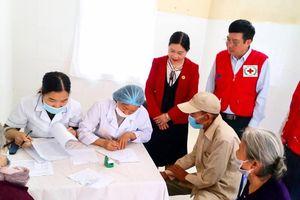 800 đối tượng gia đình chính sách, người có công ở Hoằng Hóa được khám bệnh, phát thuốc miễn phí