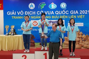 Đoàn Bắc Giang giành 3 huy chương tại Giải vô địch cờ vua quốc gia năm 2021