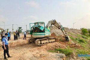 Đồng thuận giao đất thực hiện dự án Khu dân cư Kè bắc sông Trà Bồng