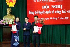 Nam Định: Ông Trần Anh Dũng và bà Hà Lan Anh trở thành tân Phó chủ tịch tỉnh