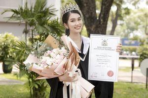 Á hậu Phương Anh xứng danh 'con nhà người ta' với số điểm tốt nghiệp ĐH cao nhất ngành