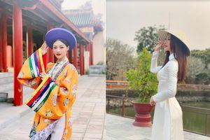 Á hậu Kiều Loan trong những thước phim quảng bá miền Trung