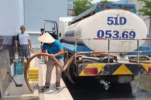 Dân chung cư An Phú Đông than trời vì bị cúp nước 4 ngày