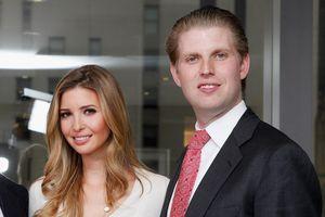 Vì sao Ivanka được em trai Eric Trump ủng hộ vô điều kiện